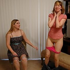 Girls Spank Girl